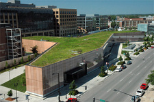 20 Public Library Living Green Roof Des Moines Iowa
