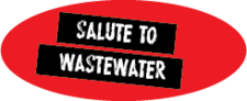 Button Salute To Wastewater